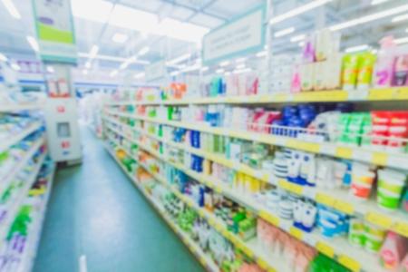 store shelf: Store, market, closeup.