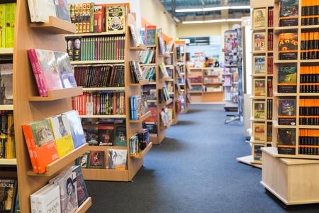 bookstore: Store, interior, book.