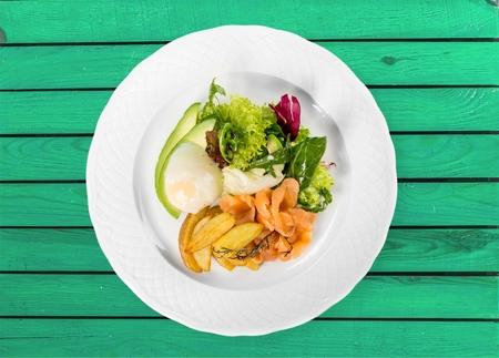 fish and chips: Pescado, patatas fritas, comida.