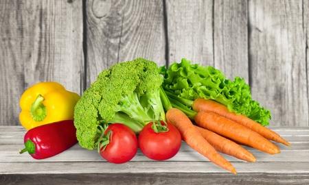 the freshness: Vegetable, Freshness, Isolated. Stock Photo