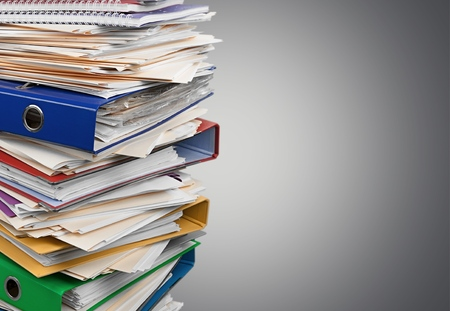 chaos to order: Stack, Paperwork, Paper.