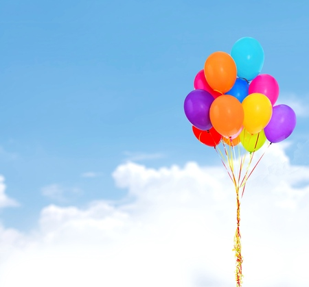 bunch up: Balloon, Birthday, Party.