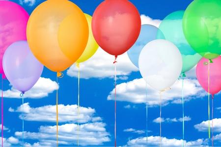 празднование: Воздушный шар, праздник, юбилей. Фото со стока