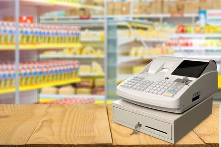 cash box: Cash Register, Coin, Cash Box.