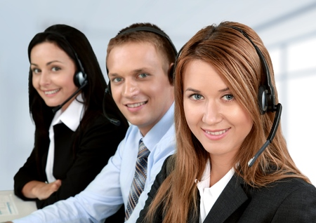 Service, Customer Service Representative, Call Center.