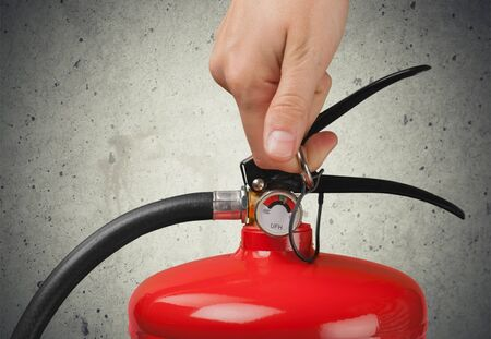 equipment: Fire Extinguisher, Extinguishing, Safety Equipment.