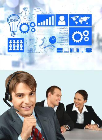 it support: Telephone, Customer Service Representative, IT Support.