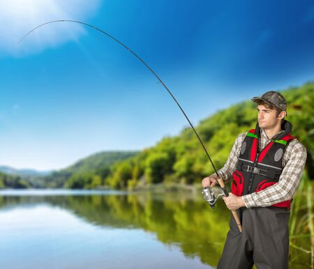 freshwater: Fishing, Fisherman, Freshwater Fishing.
