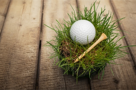golf ball on tee: Golf, Golf Ball, Tee.