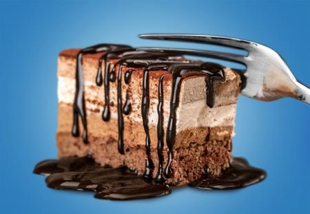 Cake, Chocolate Cake, Chocolate. 版權商用圖片