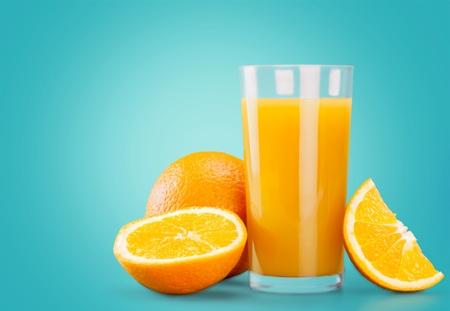 Succo d'arancia, succo di frutta, spruzzi.