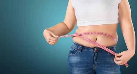 losses: Fat, weight, loss. Stock Photo