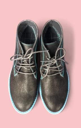 mens shoes: Dress Shoe, Shoe, Brogue. Stock Photo