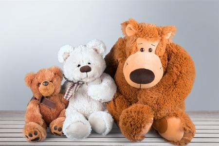 おもちゃ、ぬいぐるみ、子供。 写真素材