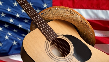 guitar: Country and Western Music, Non-Urban Scene, Music.