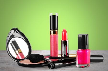 nailpolish: Makeup, nailpolish, closeup. Stock Photo