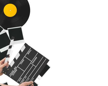 lp: Lp, vinyl, gramophone. Stock Photo