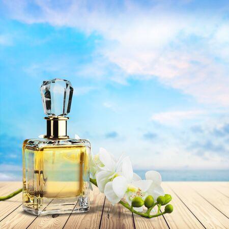 perfume bottle: Perfume, Cosmetics, Bottle.
