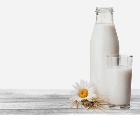 Milk Bottle, Milk, Bottle.