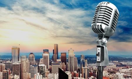 microfono de radio: Micrófono, radio, micrófono.