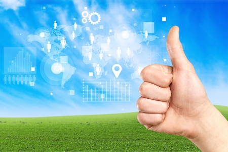 thumbs up sign: Thumbs Up sign Stock Photo
