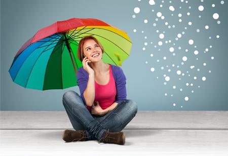 leíró szín: Leíró Color, Umbrella, Multi Colored.