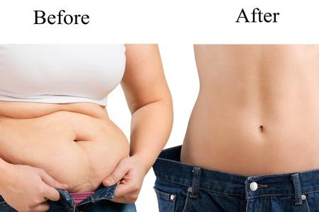 fatness: Fat, fatness, man. Stock Photo