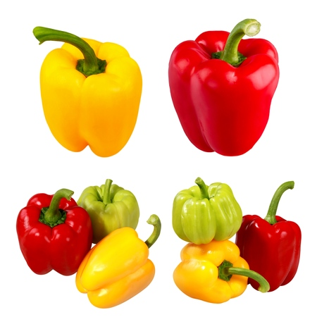 bell pepper: Pepper, Bell Pepper, Vegetable.