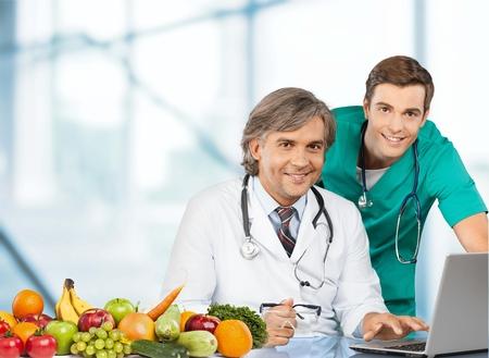 dietician: Nutritionist, dietician, men.