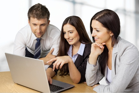 business leadership: Business, People, Meeting.