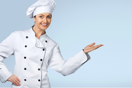 Cocinero, panadero, Mujeres. Foto de archivo - 42204977
