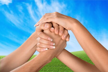 unify: Respect, Human Hand, Togetherness.
