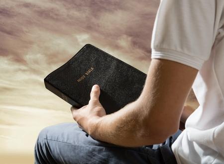 bible: Bible, Praying, Men.