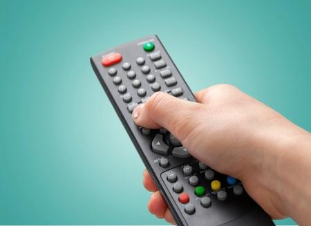 Remote Control, Television, Entertainment Center.