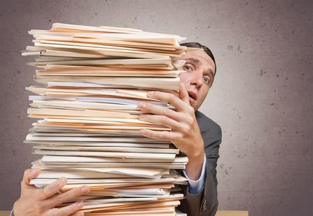 technophobe: Paper, Stack, Paperwork.