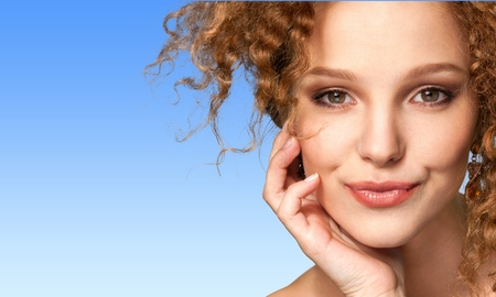 rosto humano: Mulheres, Beleza, Face Humana. Banco de Imagens