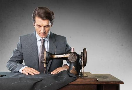Tailor, Anzug, menschlichen Hand.