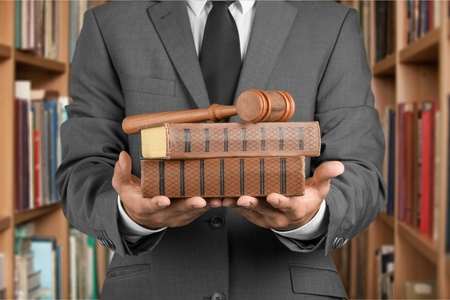 civil law: Lawyer, Law, Business. Stock Photo