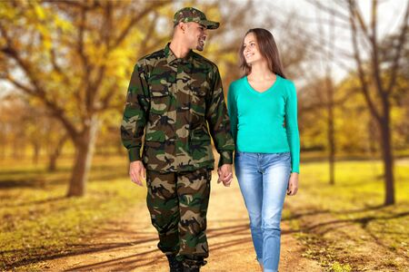 sidewalk talk: Military, Family, Armed Forces.