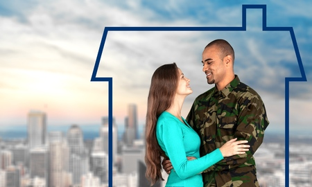 forces: Family, Military, Armed Forces. Stock Photo