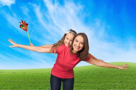 niños rubios: Familia, alegre, niño.