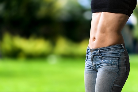 body building: Abdominal Muscle, Female, Body Building.