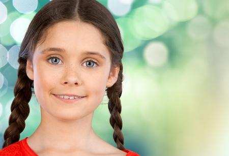 niñas sonriendo: Niño, sonriente, niñas.