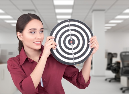 target: Dartboard, Darts, Target.