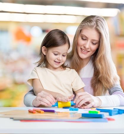 preschooler: Table, preschooler, baby.
