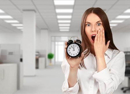 distorted image: Clock, Deadline, Humor.