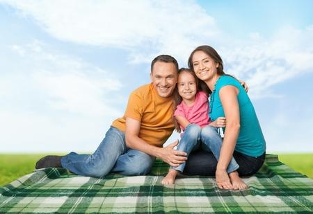 asian ethnicity: Family, Asian Ethnicity, House. Stock Photo