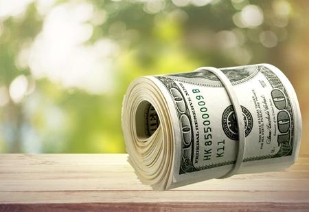 bankroll: Currency, Money Roll, Wealth.
