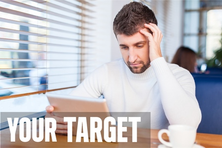 your: Your target, student, tablet.