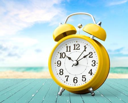 Uhrzeit, Wecker, Countdown. Standard-Bild